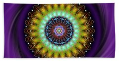 Sacred Geometry 710 Beach Towel