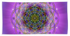 Sacred Geometry 715 Beach Towel