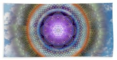 Sacred Geometry 716 Beach Towel