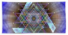Sacred Geometry 717 Beach Towel