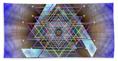 Sacred Geometry 717 Beach Towel