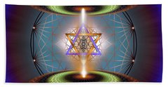 Sacred Geometry 718 Beach Towel
