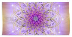 Sacred Geometry 721 Beach Towel