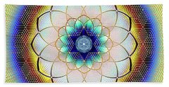 Sacred Geometry 723 Beach Towel