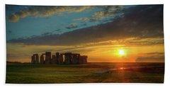 Sacred Sunset Beach Sheet