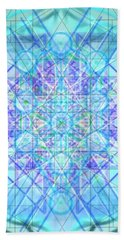 Sacred Symbols Out Of The Void 3b1 Beach Towel by Christopher Pringer