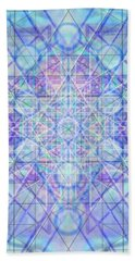 Sacred Symbols Out Of The Void A3c Beach Towel by Christopher Pringer