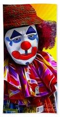 Sad Clown Beach Sheet