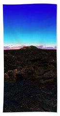 Saddle Road Humuula Lava Field Big Island Hawaii  Beach Sheet