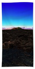 Saddle Road Humuula Lava Field Big Island Hawaii  Beach Towel