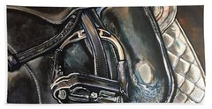 Saddle Study Beach Towel