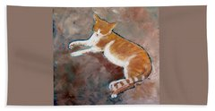 Saddle Tramp- Ranch Kitty Beach Towel