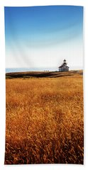 Safe At Home Beach Towel by Mark Alder