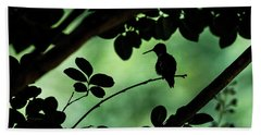 Safety In The Shadows Beach Towel