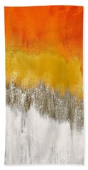 Saffron Sunrise Beach Towel