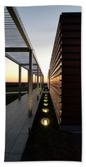 Beach Towel featuring the photograph Sag Harbor Sunset 1 by Rob Hans