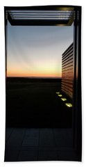 Beach Towel featuring the photograph Sag Harbor Sunset 2 by Rob Hans