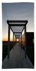 Beach Towel featuring the photograph Sag Harbor Sunset by Rob Hans