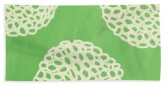 Sage Garden Bloom Beach Towel