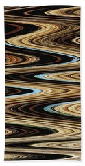 Saguaro Abstract Beach Sheet by Tom Janca