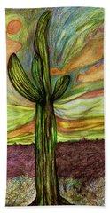 Saguaro Cactus Beach Sheet
