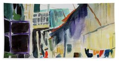 Saigon Alley Beach Towel