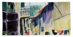 Saigon Alley Beach Towel by Tom Simmons