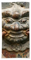 Saigon Door Knocker Beach Towel by For Ninety One Days