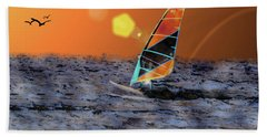 Sail Away Beach Sheet