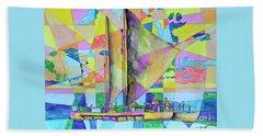 Sail Away Sunset Beach Sheet