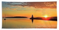 Sail Into The Sunrise Beach Towel