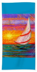 Sailaway Beach Towel