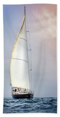Sailboat 9 Beach Towel