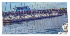 Sailboat Classes Beach Towel