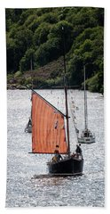 Sailing 46 Beach Towel