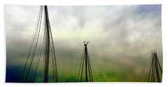 Beach Towel featuring the photograph Sailing by EDi by Darlene