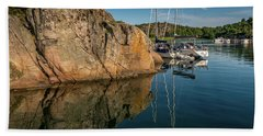 Sailing In Sweden Beach Sheet