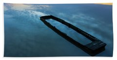 Beach Towel featuring the photograph Sailing In The Sky by Davor Zerjav