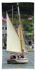 Sailing In The Usa Beach Sheet
