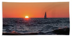 Sailing Into The Sunset Beach Sheet