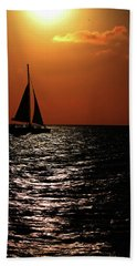 Sailing Into The Sunset Beach Sheet
