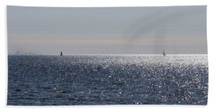 Sailing On Lake Pontchartrain Beach Towel