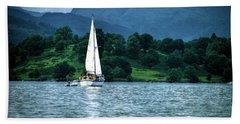 Sailing The Lakes Beach Sheet