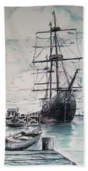 Sailing Vessel Pandora Beach Sheet