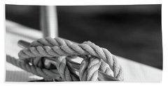 Sailor's Knot Square Beach Towel