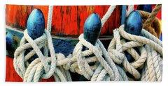 Sailor's Ropes Beach Towel