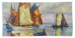 Sails 1 Beach Towel by Irek Szelag