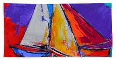 Sails Colors Beach Towel