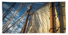 Sails In The Breeze Beach Towel