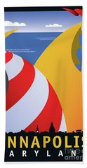 Sails Beach Towel